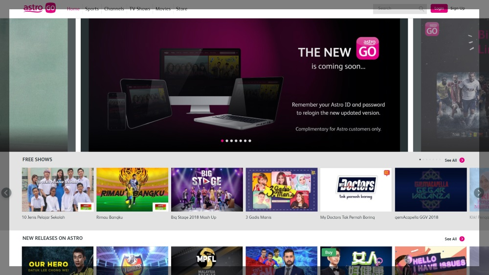 How to watch Astro TV shows online legally - Barzrul Tech