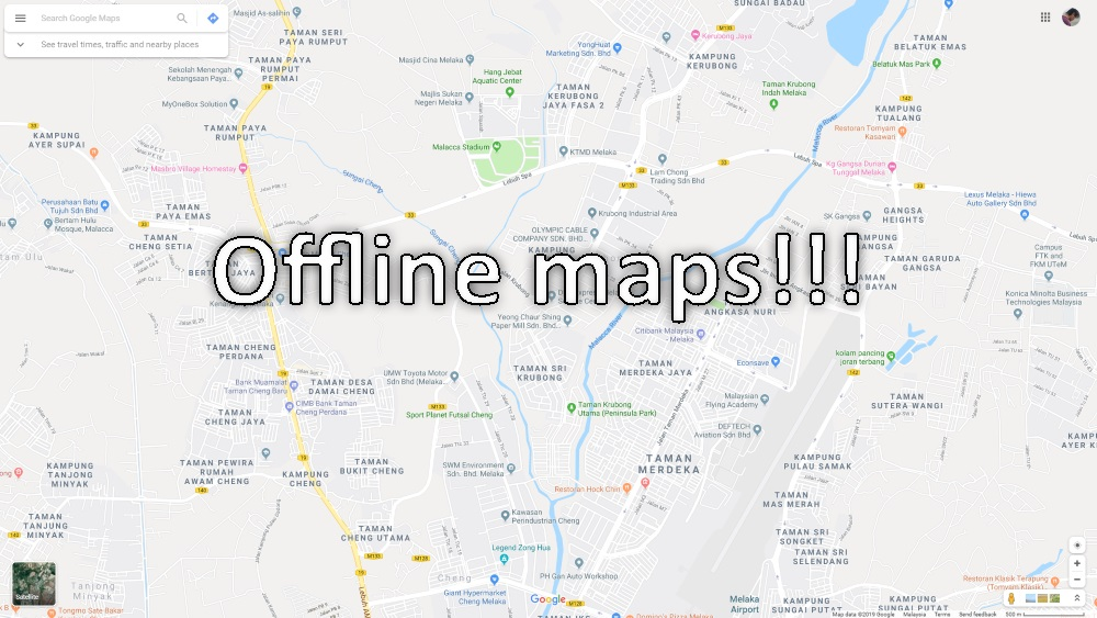 How to use Google Maps Offline on Android and iOS - Barzrul Tech Google Map Ios Offline on google offline maps, windows offline maps, nokia offline maps, nokia here maps, android offline maps,