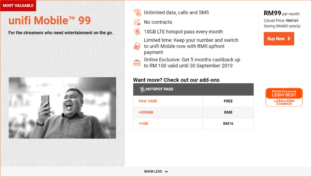 Webe Now Unifi Mobile Review Better Than Before Barzrul Tech