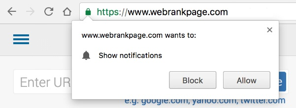 How to disable popup notification from dating sites on chrome