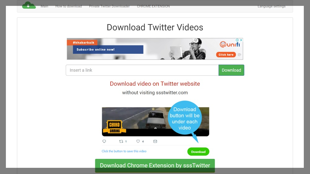 How to download Twitter video and GIF image directly from
